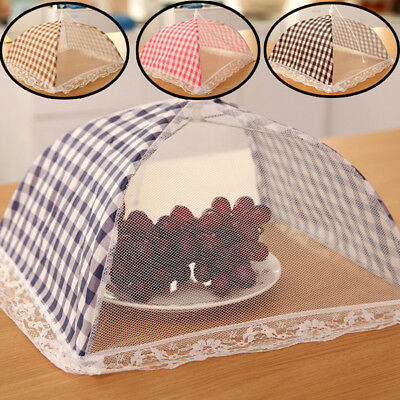Durable kitchen food umbrella cover picnic barbecue party fly mosquito mesh net