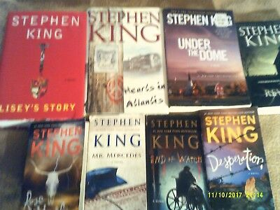 Lot of 24 STEPHEN KING books--You Pick 3