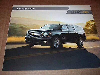 2019 Chevrolet Suburban 28 Page Original Car Sales Brochure  Catalog  New