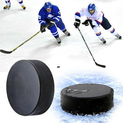 Sport Hockey Puck Bulk Blank Ice Official Regulation Black Replacement Spare