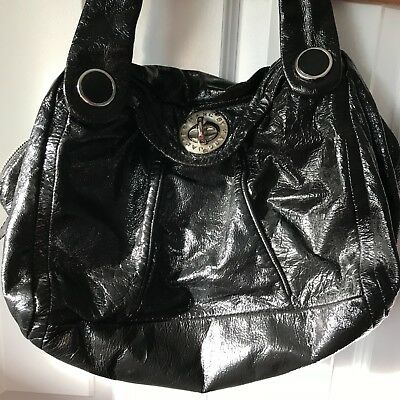 ed1881a792a5 Marc by Marc Jacobs handbag black shiny cow leather Large Purse With Dust  Bag