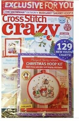 Cross Stitch Crazy December 2018- Issue 249- Christmas Hoop Kit