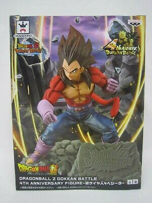 Banpresto Dragon Ball Z Dokkan Battle 4th Anniversary Figure Super Saiyan Bejita
