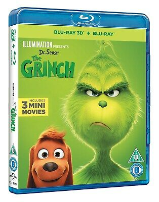 The Grinch (3D + 2D ) [Blu-ray]