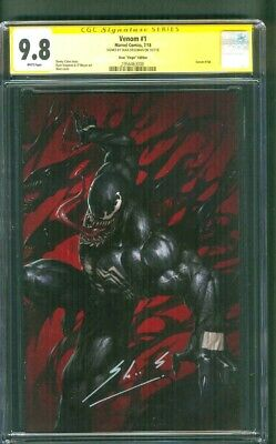Venom 1 CGC 9.8 SS Skan Virgin Variant Spider Man Far From Home 2019 Movie