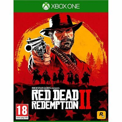 Rockstar Red Dead Redemption 2 2018 Video Game For XBox One Ages 18+ Years