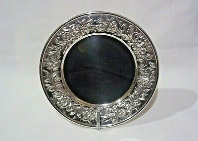 S. Kirk & Son Sterling Repousse Bread/Butter Plate #127F *NO MONO*