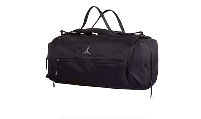 70a44cdd9c15 Air Jordan Basketball Jump Man Alias Black Travel   Sports Duffle Bag   Gym  Sack