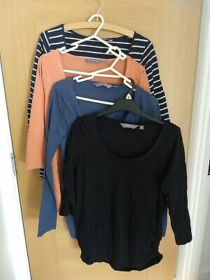 Maternity bundle 4x New Look long Sleeved T Shirts Size 14