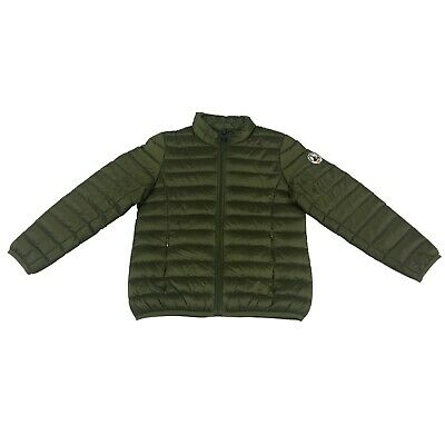 JOTT down jacket light baby 6/8 years military mod EVAN 90% 10% feather