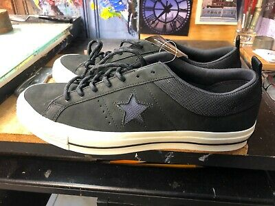 16c6bdcb34ba96 CONVERSE ONE STAR X Patta Deviation 160078C Black Men Size US 10 NEW ...