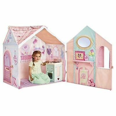 Rose Petal Cottage Tent Kids Play House & Cooker Playset Wendy House For Ages 2+