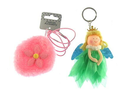 little girls, Toddlers small  purse with elastics and a fairy key chain (cdd)
