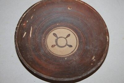 ANCIENT GREEK POTTERY PLATE 4th CENTURY BC