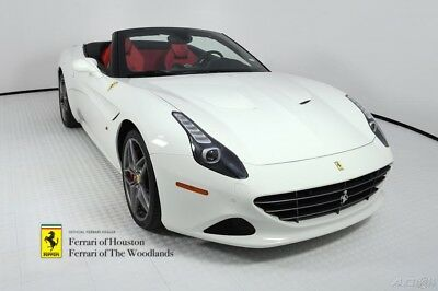 2017 Ferrari California T 2017 FERRARI CALIFORNIA T HANDLING SPECIALE, FACTORY NERO ROOF, HIGHLY OPTIONED