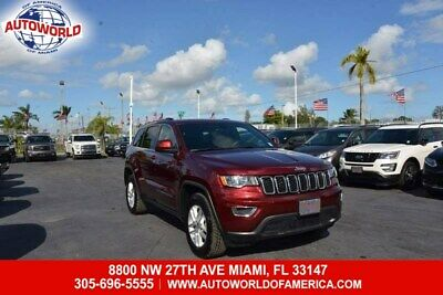 2017 Grand Cherokee Laredo 2017 Jeep Grand Cherokee 4WD Laredo  3.6L 6 Cylinders Export Only Title