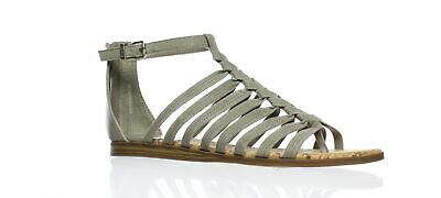 32fc01113 New Circus by Sam Edelman Womens Carey Brown Ankle Strap Flats Size 6.5