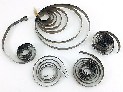 Miscellaneous Lot Antique Vintage Coil Main Spring For Mantel Clocks I679