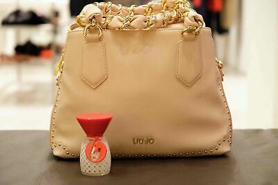 Bauletto Borsa Liu Jo Lovely U A18021 Love You Bag Rosso Cherry Red +  Profumo 0966a12262b