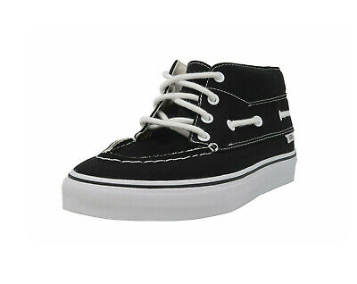 206c0cb9aa VANS Shoes MEN Sizes Skateboarding Sneakers Chukka Del Barco Black Canvas