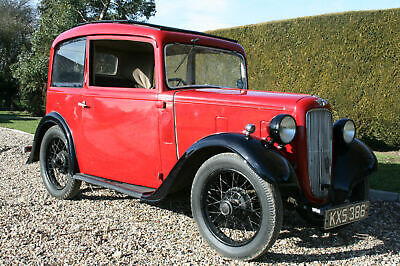 Austin 7 Ruby Saloon. Excellent Condition Throughout . Delivery Possible