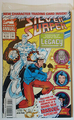 Silver Surfer Annual #6 1st Legacy Genis-Vell Captain Marvel Comics 1993 Movie