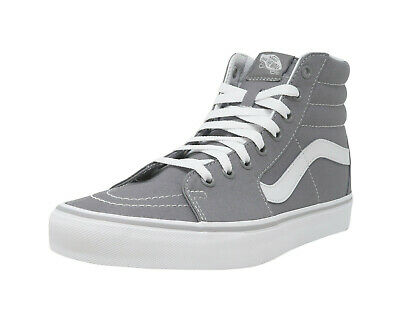 a9326a0d14a1 VANS SK8-Hi Frost Gray White Lace Up Fashion Athletic Sneakers Adult Men  Shoes