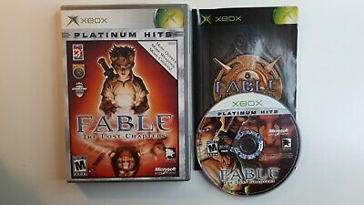 Fable the Lost Chapters game for Microsoft Xbox -Complete CIB - FREE SHIPPING !!