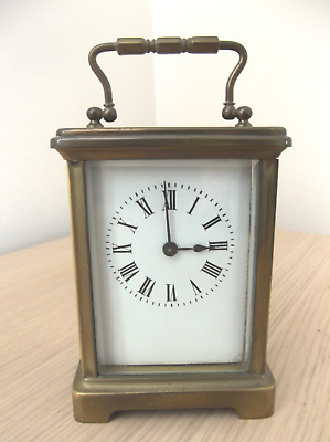 Antique French Carriage Clock Good Working Order