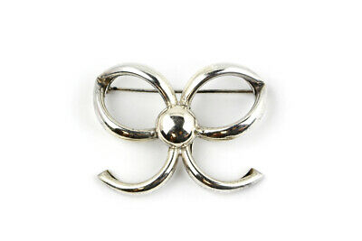 Vintage Napier Sterling Silver Bow Brooch/Pin