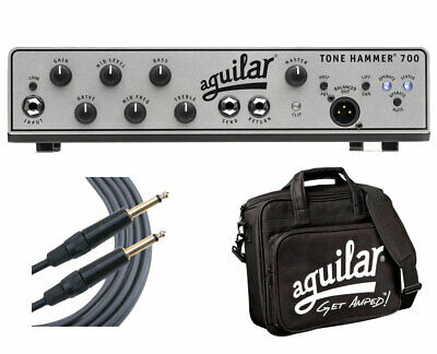 Aguilar Tone Hammer 700 + Carry Bag + Mogami Cable