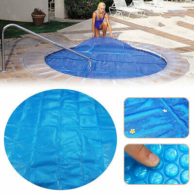 Protective Cover Round Hot Tub Heat Retention Bubble SPA Thermal Blanket Cover
