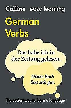 Easy Learning German Verbs : In Colour by HarperCollins UK