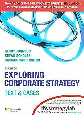 Exploring Corporate Strategy with MyStrategyLab : Text and Cases