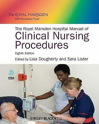 Royal Marsden Hospital Manual of Clinical Nursing Procedures-ExLibrary