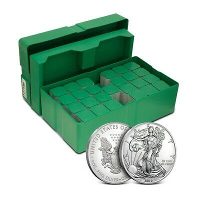 Sealed Monster Box of 500 - 2019 $1 American Silver Eagle Coin 1 Oz .999 Fine BU