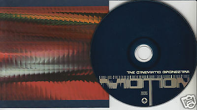 THE CINEMATIC ORCHESTRA Motion (CD 1999) Dance Album 7 Songs