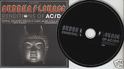 BUDDHA LOUNGE Renditions of AC/DC (CD 2007) Tribute 12 Songs