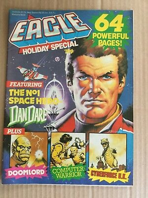 Eagle holiday special 1988 Dan Dare Doomlord 64 pages Computer Warrior