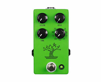 JHS The Bonsai 9 Way Tube Screamer Overdrive Guitar Pedal