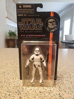 Star Wars - The Black Series - #13 STORMTROOPER - Carded - Hasbro 2013