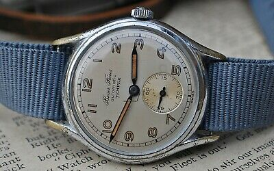 BUSER FRERES & CO TEMPEX AUTOMATIC GENTS VINTAGE WATCH c1950's-VERY RARE!