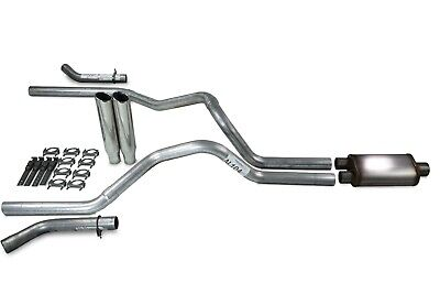 F150 87-94 dual exhaust 2.25 pipe Flowmaster 40  SW Tip