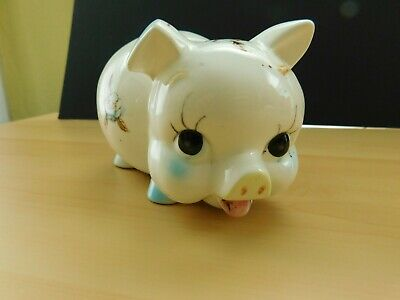 Vintage Ceramic Piggy Bank from the 1970's.