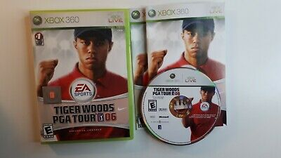 (Microsoft Xbox 360) *CIB* Tiger Woods PGA Tour 06 - COMPLETE - FREE SHIPPING !!