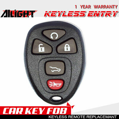 Gm Key Fob >> Oem Gm Chevy Keyless Remote Entry Key Fob Alarm Ouc60221 15913415 5 Button