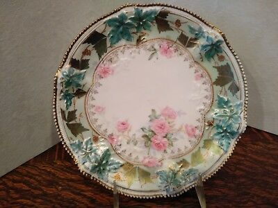 rs royal Hannover Prussia beautiful Tiffany finish roses and ivy