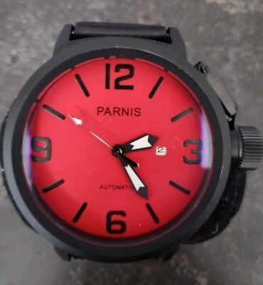 U Boat by PARNIS  Watch - FIRST CLASS Mechanical Automatic 50mm.  Moo