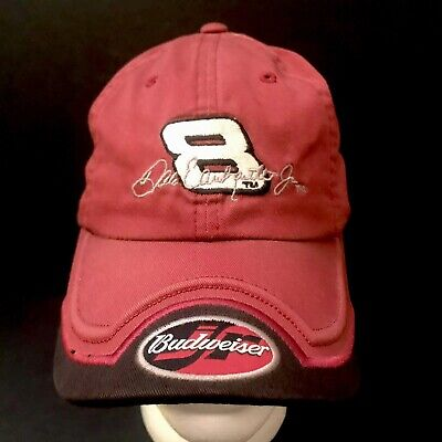 50d6531f089 Dale Earnhardt Jr.  8 Budweiser Racing NASCAR Hat by Chase Authentics Rare  Cap