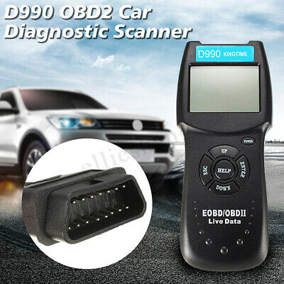 Universal OBD2 EOBD Auto Car Engine Fault Code Reader Diagnostic Scanner